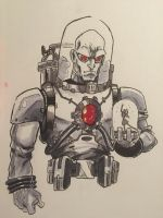 Mister Freeze.  by jokerlover94