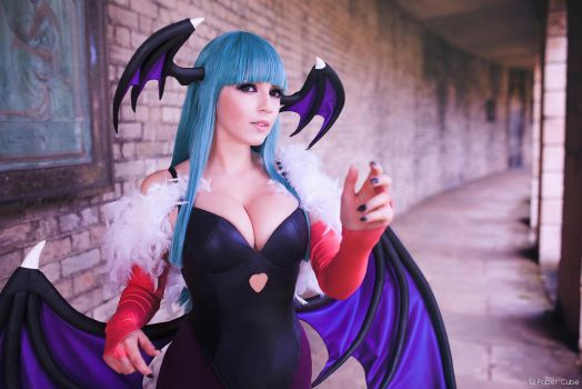 Morrigan Aensland by JuTsukinoOfficial
