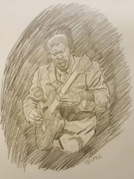B B King by Phillymon75