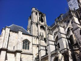 Cathedrale Saint-Etienne de Bourges (France) - 03 by IDAlizes