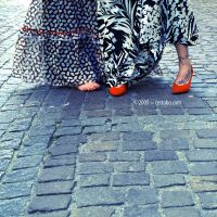 TATOO, RED SHOES AND FEET by cetrobo