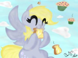 Derpy by PrositDoodles