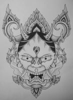 Hannya Thai by JonToogood