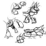 4 Min Pose sheets 04 by creon77