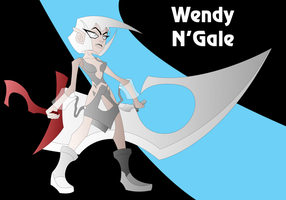 Wendy N'Gale the LightCutter by Keytee-chan