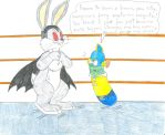 Bunnicula vs Larry Boy by Jose-Ramiro