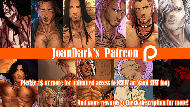 .: Patreon Banner :. by JoanDark