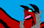 Yveltal colored by Michael-95