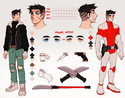 Character Design Commission: The Medic by yiawe