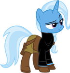 Trixie as Helga Sinclair by CloudyGlow