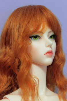Flame hair by Asbelial