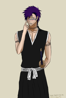 Full Body Com.-Hisagi Shuuhei: Blush Please~! by PeachBerryDivision