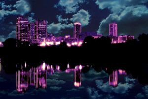Ft.Worth Night Wallpaper 1293x862 by vamp1967