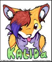 Kalida badge by o-kemono