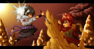 Chibi Fight! Love V. Hate by BreakingSasuke