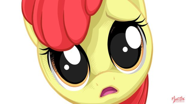 Apple Bloom - Too Close in 1920 by mysticalpha