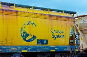 Chessie System Grain Car by missconceitedme