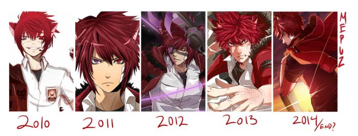 Mepuz year by year by ahoguu