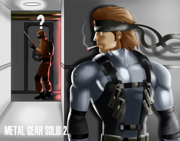 MGS 2 by DarkSamurai-7