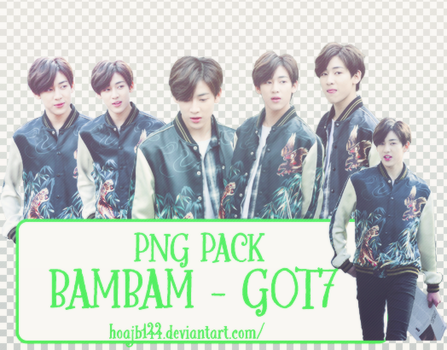 //07.05.16// PACK RENDER BAMBAM - GOT7 by hoajb144