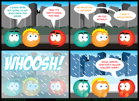 SC421 - No Snow by simpleCOMICS