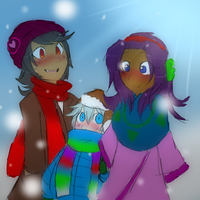 WHAT A MUTICULTURAL FAMILY THIS IS, I LOVE THEM. by Twilight-Entropy