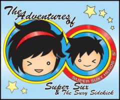 Suxy Heros in MOTION: DOWNLOAD by squishypuff