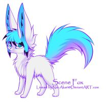 Scene Fox Adopt: CLOSED by Inner-Realm-Adopts
