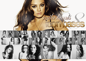 Mila Kunis - Iconbases Set '1 by r-adiant