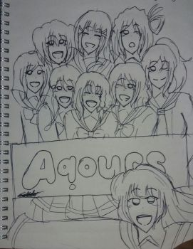Love Live!Sunshine!!-Aqours by NaNo-Angle