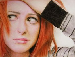 Hayley Williams - Paramore by im-sorry-thx-all-bye