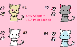 Kitty Adopts #1 :3 by WolvesOfComedy