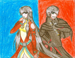 ACEO - Jedi and Sith by TorresAdlinCDL91