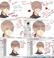 anime hair tutorial by mano-k