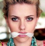 Scarlett Johansson Cleave Gagged by FakeGaggedCelebrity2