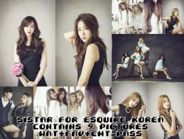 Sistar For Esquire Korea 008 by PanPanJianne
