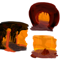 Lava Cave Design by OrganicGranite