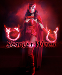 Scarlet Witch by cutemonsterchild