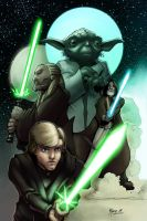 Jedi Lineage- Colors by AdamMasterman
