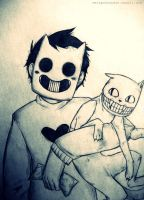 OFF- Zacharie and Pablo by MelSpontaneus