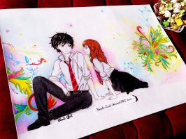Kou and Futaba - Ao Haru Ride by Farah-Suli