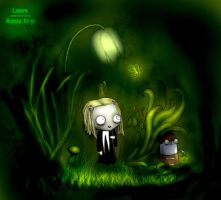 Lenore in forest by Fearless--Vampire