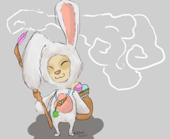 Cottontail Teemo by C-k