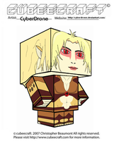 Cubeecraft - Cheetara '2011' by CyberDrone