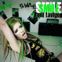 Smile-Avril Lavigne by JowishWuzHere2