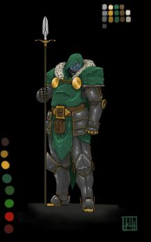 doctor doom  by Karelwithak3