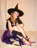 Jodi Purple Halloween Witch 20 by FantasyStock