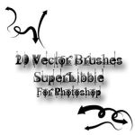 20 Vector Arrow PS Brushes by superlibbie