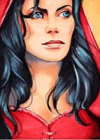 OUAT Red Riding Hood ACEO by Faerytale-Wings