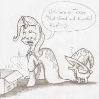 Trixie and her Most Unfortunate Dilemma by Smoking-mist
